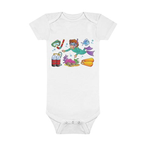 SCILLY DIVING BABY BODY SUIT SCUBA DIVING