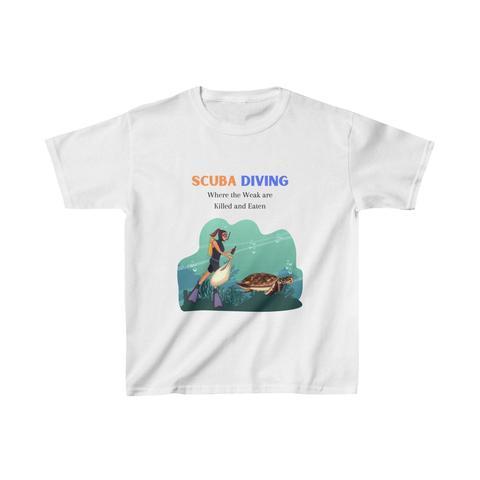 SCUBA DIVING KID SHIRT SD